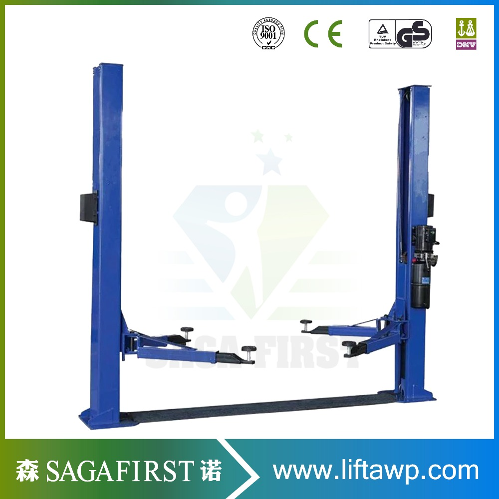9000lb Capacity Single Point Lock Release Lift For Automotive Maintance