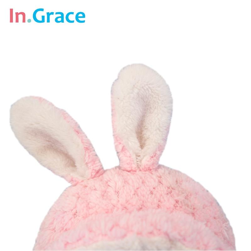 In.Grace super cute çəhrayı dovşan körpə doğulmuş bebeklər - Kuklalar və kuklalar üçün aksesuarlar - Fotoqrafiya 6