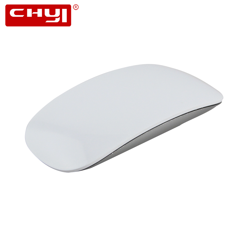CHYI Wireless Magic Mouse 2.4Ghz 1200DPI Raton Inalambrico Ergonomic Super Slim Mice Silent Touch For PC Laptop Desktop Mac Book