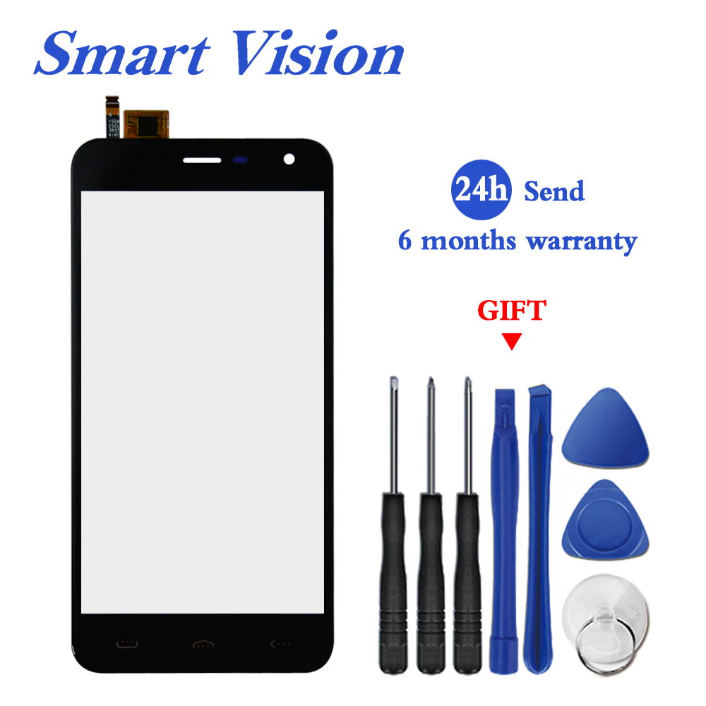 5.0 Inch For HOMTOM HT3 / HT3 Pro Touch Glass Panel For HT 3 Pro Touch Screen Digitizer Replacement Parts+Tools