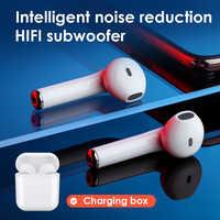 SANLEPUS i10 TWS 5.0 Senza Fili di Bluetooth del Trasduttore Auricolare Stereo Auricolari Della Cuffia Mini Auricolare Aggiornamento Per Tutte Le Smart Phone