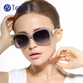 TenLon brand  glasses floral polarized sunglasses women oculos de sol feminino sun glasses women eyeglasses for women anti uv400