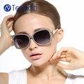 TenLon gafas de marca floral gafas de sol polarizadas mujeres gafas de sol feminino gafas de sol mujer gafas para las mujeres anti uv400