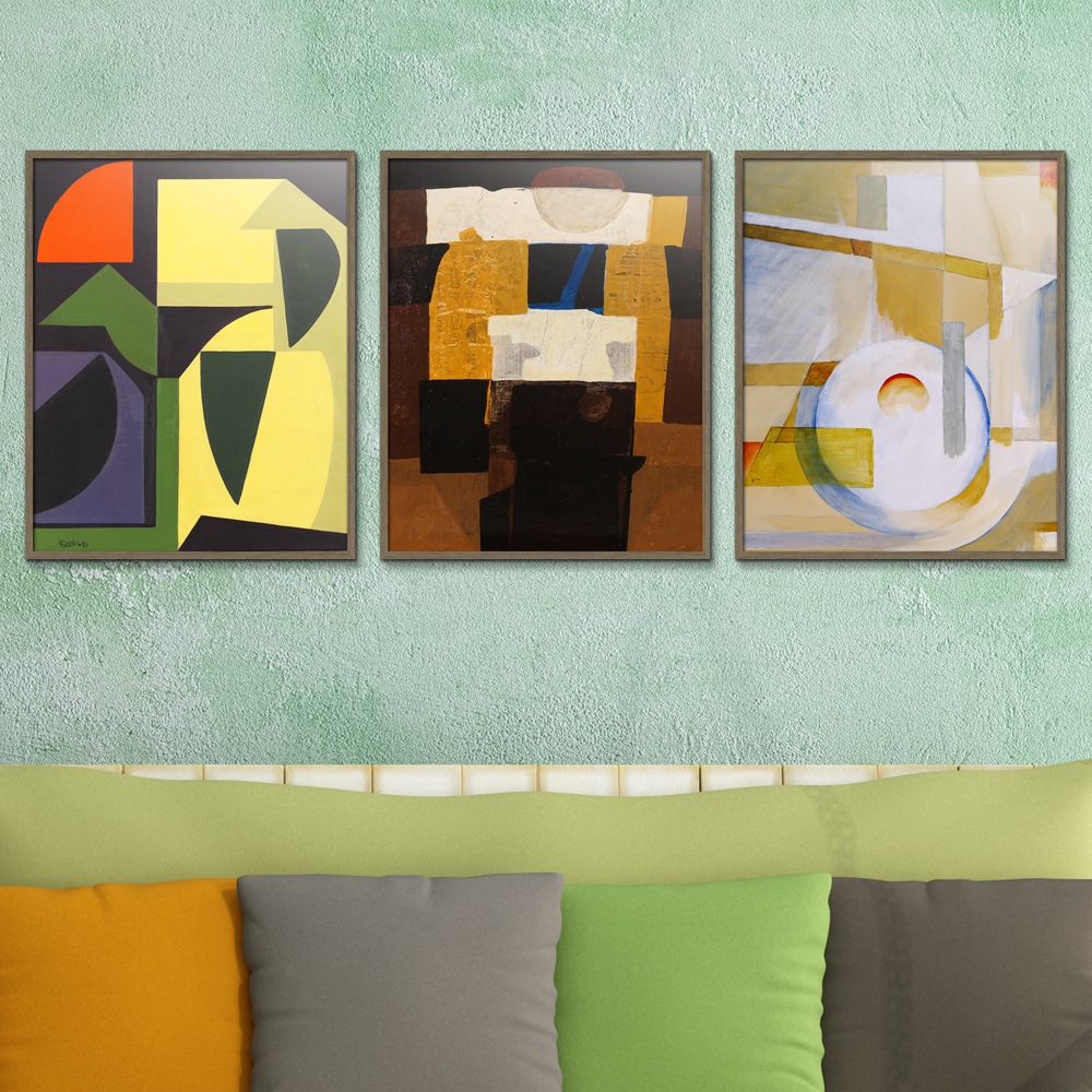 Letter Abstract Home decor Frameless Spray Oil Painting Canvas drawing living room Realistic straw Hot Selling kitchen