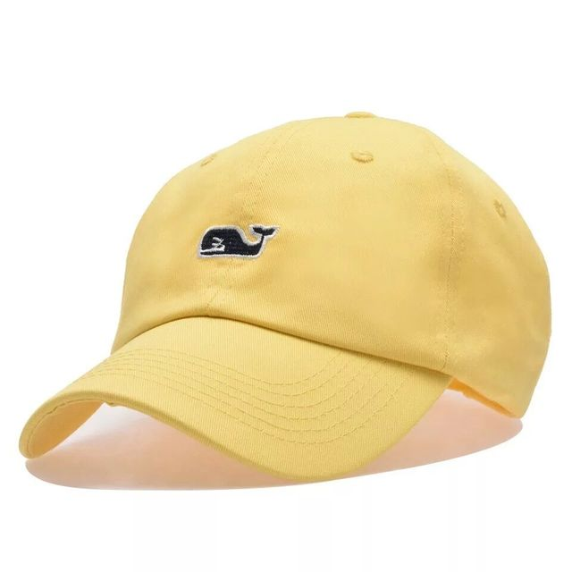 Whale Embroidery Cotton Baseball Cap 4
