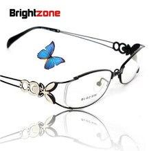 Alta Qualidade Super-leve Moda Feminina Borboleta Gases de Receita de  Óculos De Prescrição RX 9f9e2e6262