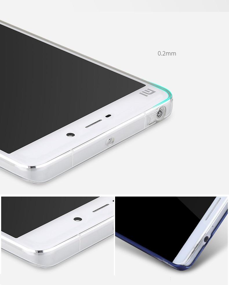Xiaomi Mi 5S תיק סיליקון TPU כיסוי אחורי עבור שא מ 5 פלוס ברור Fundas קאפה M5 שקוף Coque Mi5s טלפון נייד תיק Carcasa