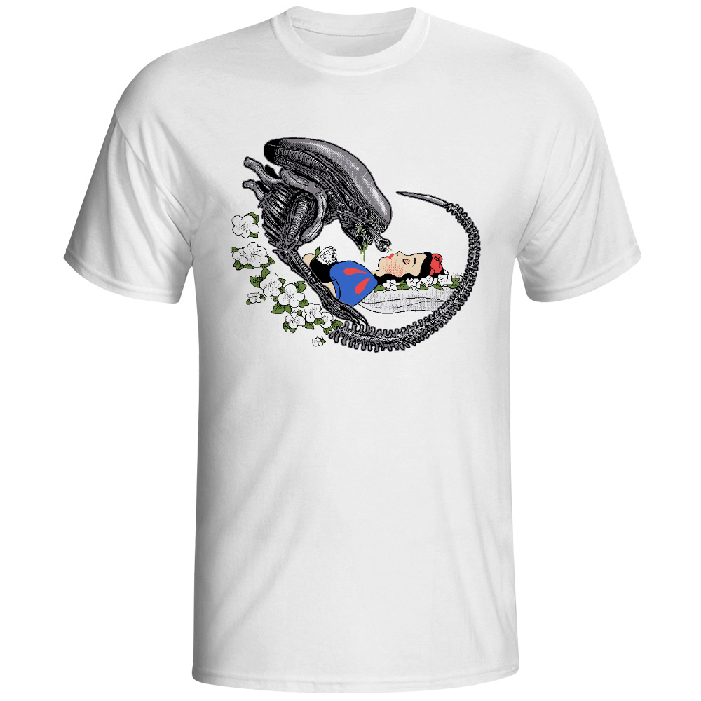 Alien T Shirt Parody Design T Shirt Fashion Novelty Style