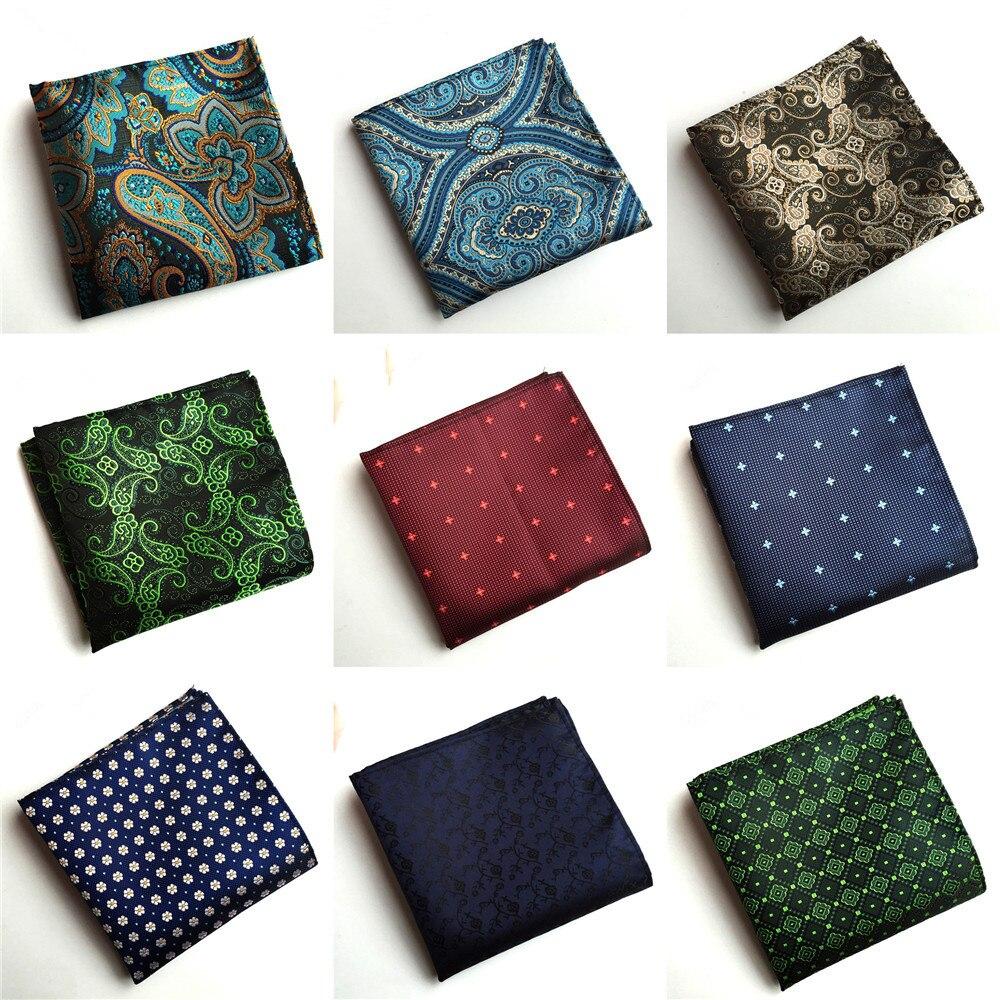 Unique Design Polyester Flower Business Suit Accessories Handkerchief 2019 Fashion Explosion Business Men's Quality Pocket Towel