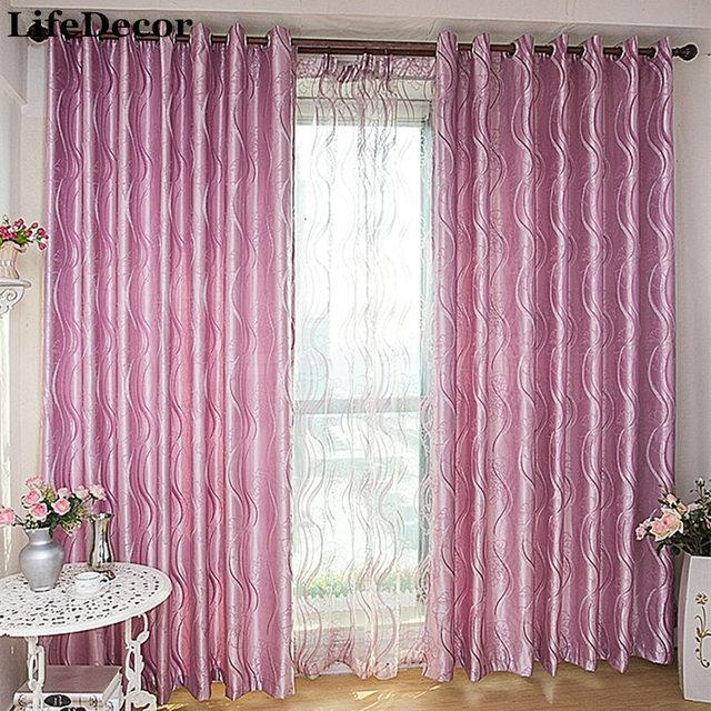 Modern minimalist style living room bedroom den curtain fabric ...