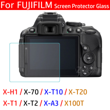 Screen Protector for Fujifilm X-70 X-T10/T20 X-T1 X-T2 X-A3 X-H1 X-100T Toughened Dustproof HD 9H Camera LCD Tempered Glass Film x