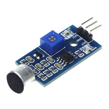 3pin Voice Sound Detection Sensor Module Intelligent Smart Robot Helicopter Airplane Boart Car for arduino Diy Kit(China)