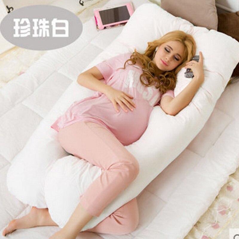 130*70 CM U schwangerschaft komfortable kissen Mutterschaft gürtel Körper Charakter schwangerschaft kissen Frauen schwangere Seitenschläfer kissen