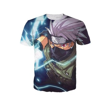 Cloudstyle 2018 Brand Tshirt Men Women T shirt Anime Cartoon 3D Print T shirt Naruto/One Piece/Dragon Ball/One Punch Man Top Tee 1