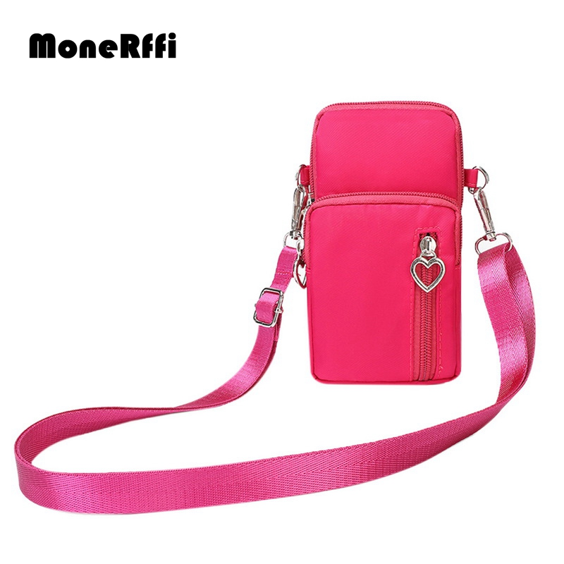 MoneRffi 2019 Women Sports Mini Square Bag Messenger Cellphone Pouch Key Wallet Mobile Phone Bag Crossbody Shoulder Bags Purses MoneRffi 2019 Women Sports Mini Square Bag Messenger Cellphone Pouch Key Wallet Mobile Phone Bag Crossbody Shoulder Bags Purses