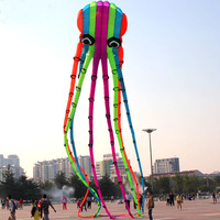 Профессиональное Спортивное программное обеспечение 23 м, Радужный осьминог, воздушный змей/рыбный змей, хороший Летающий