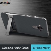 Onenine 3D Kickstand Phone Cover for Huawei Mate 9 Case Hybrid Cover 5.9 TPU+PC 360 Protection Carcasas Fundas for Huawei Mate 9