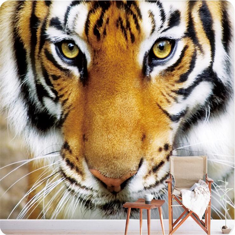 Custom photo wallpaper Tiger animal wall paper bedroom background large mural wall art murals living room  home decor painting  seiko ssb254p1