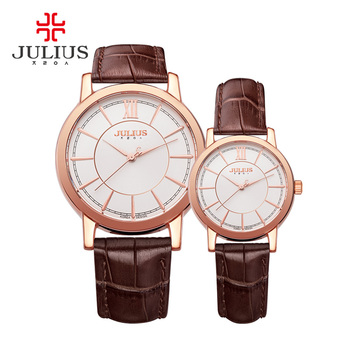 2017 Lovers Couple Quartz Watch Mens Fashion Simple Leather Women's Dress Clock Brand Relogio Reloj Women Wrist Watches Men couple watches for lovers luxury wood watch mens fashion wooden women dress clocks gifts for valentine s day relogio de casal