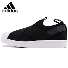 Original Adidas Originals SUPERSTAR SlipOn Unisex Skateboarding Shoes Sneakers Outdoor Sports Athletic New Arrival 2019 new arrival original adidas climacool jawpaw slip on unisex aqua shoes outdoor sports sneakers