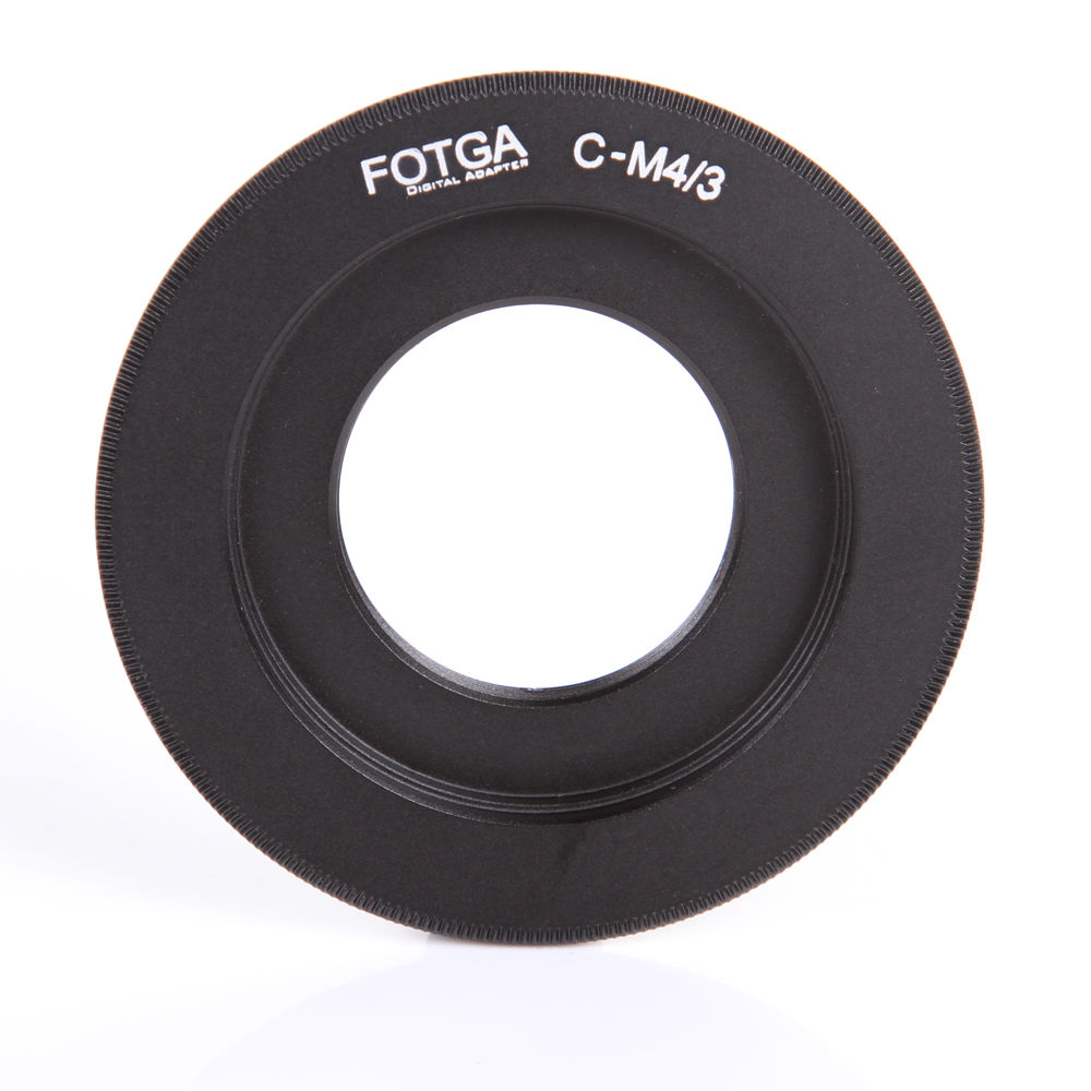 FOTGA C Mount for Lens to Micro 4/3 M4/3 G6 GH3 G5X GX1 E-P5 E5 E-PM1 Camera Adapter image