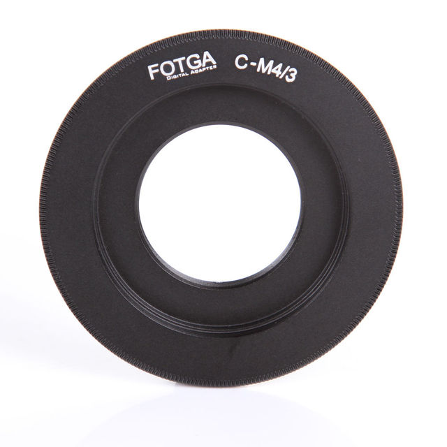 FOTGA Monture C pour Lentille à Micro 4/3 M4/3 G6 GH3 G5X GX1 E P5 E5 E PM1 Caméra Adaptateur