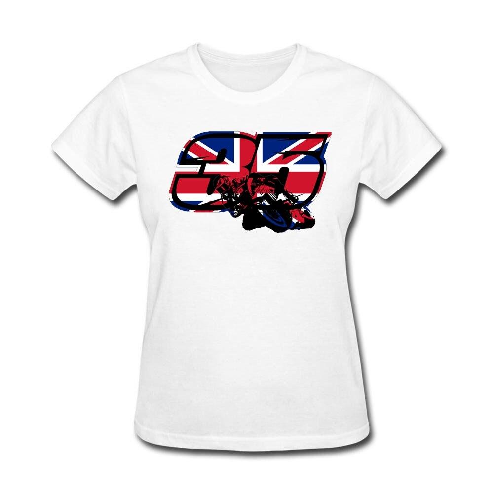 Black flag t shirt uk - Women Uk Flag Custom Design T Shirt With Go Cal Crutchlow In Motogp Hilarious T