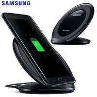 Chargeur sans fil QI de charge rapide d'origine Samsung pour Samsung Galaxy S7 edge S6 S8 Plus S9 S10 G9508 G9200 N9200 Note8 Xiaomi9