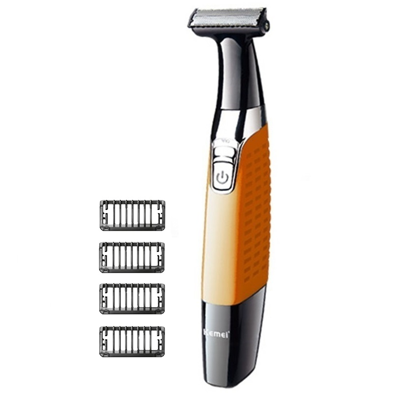 Washable Shaver For Men Trimmer Body Groomer Facial Electric Shaver Edge Electric Razor Male One Blade Shaper Beard Trimmer