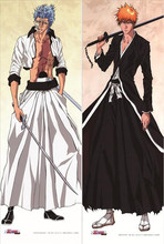 Bleach Ulquiorra Cifer and Grimmjow Jaegerjaques 50x150cm 50x160cm wall poster Fabric Scroll poster