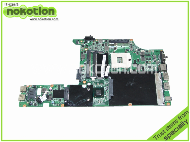 NOKOTION FRU 04W0378 Laptop Motherboard For Lenovo L420 intel HM65 DDR3 Mainboard DAGC9EMB8E0 REV:E Full Tested nokotion laptop motherboard for lenovo g570 la 675ap mainboard intel hp65 ddr3 socket pga989