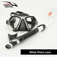 Genuine Full dry Snorkeling Mask with Breath Tube Foldable and Light Weight for Scuba Diving Snorkeling Swimming