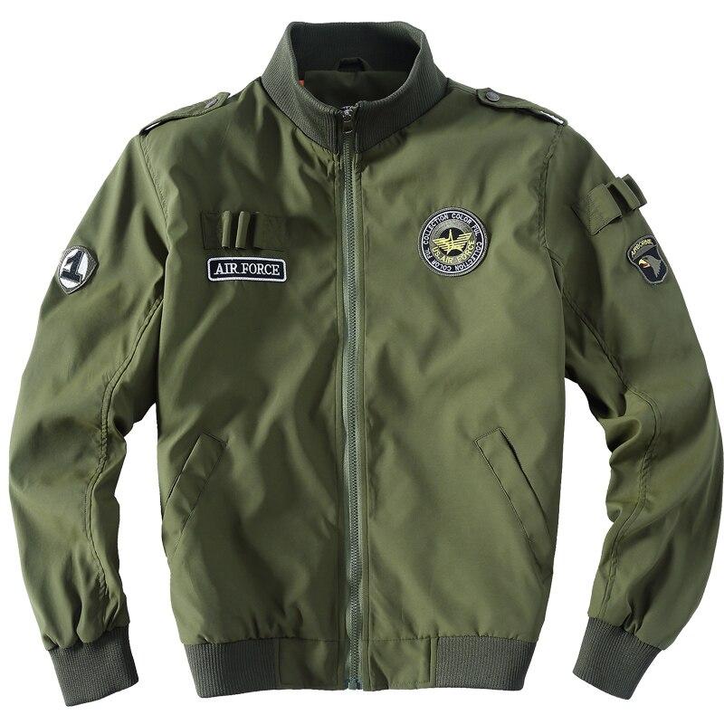 Broderie Air Kaki Vestes Usa Pour Mens Taille Armée 2113 Pilote Hommes Manteaux Blouson Aigle Lrge Bleu Force Vert Veste Militaire fAxqWwpFBW