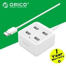 ORICO DH4U-U2 USB2.0 HUB 4 Порта HUB с 100/150 см Кабель для Ноутбука/Ultrabook-Белый