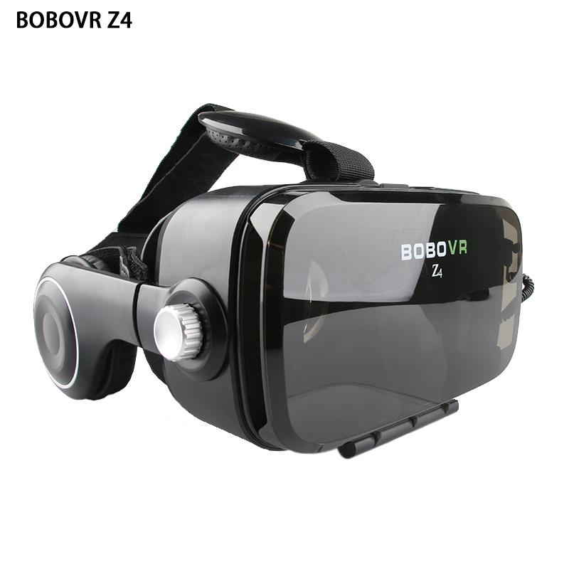 2017 Newest BOBOVR Z4 Pro 3D Cardboard Virtual Reality VR Glasses Headset for4-6' iPhone, Samsung and all Android Smartphones