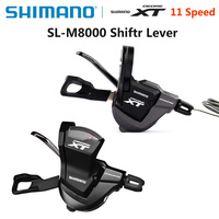 Shimano Deore XT SL M8000 11S 2/3x11S Shifter Lever Rapidfire Plus Shifting Levers Mountain Bike Shifter with Inner Cable