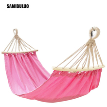 SAMIBULUO Kid Hammock Swings Child Garden Sports Home Travel Camping Swing Canvas Hang Bed 150 x75cm