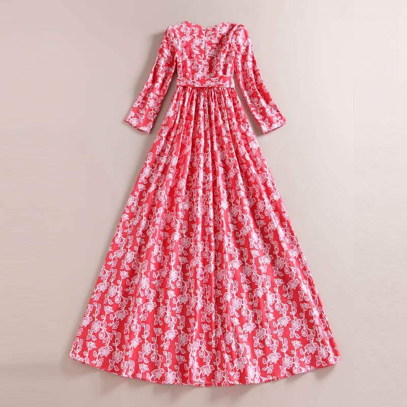 100% Cotton Maxi Dress