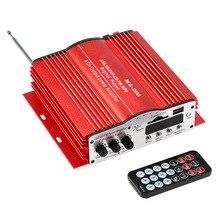 MA200 4 канала HiFi аудио стерео Усилители домашние автомобильный сабвуфер MP3 Динамик USB SD FM