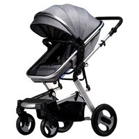 KUBEEN&Baby Bum stroller 2 in 1 stroller lie or damping folding light weight Two way baby four seasons Russia free shipping
