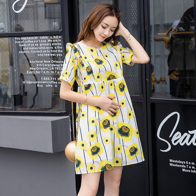 f902f43b5de 2019 Hot Party maternity clothes maternity dresses pregnancy clothes for Pregnant  Women nursing dress Breastfeeding Dresses