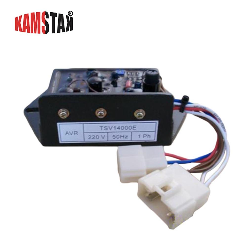 Japan Automatic Regulator Generator AVR Voltage Regulating Module TSV12000E-16500E Series