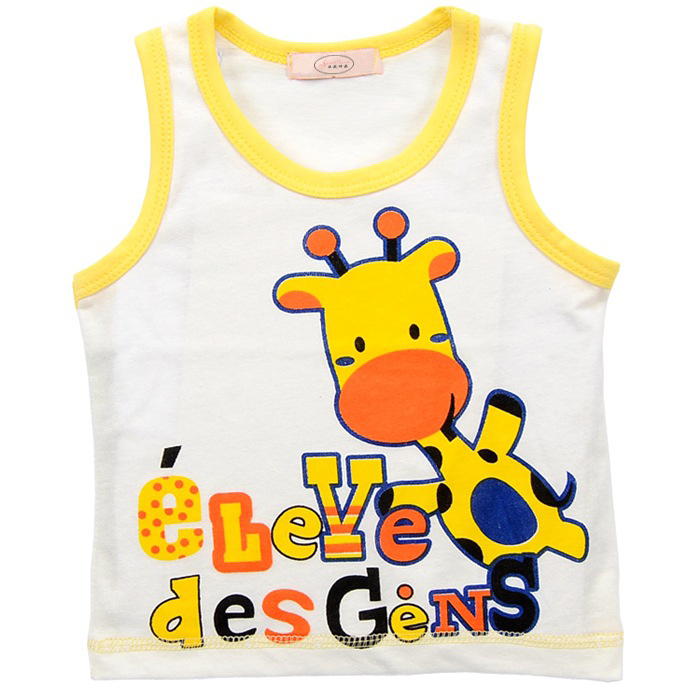 1-2Yrs-Summer-Baby-Sleeveless-Vest-Cotton-Baby-Boy-Sleeveless-T-shirts-Baby-Girl-Cartoon-Vest-Summer-Tees-Shirts-Free-Shipping-2