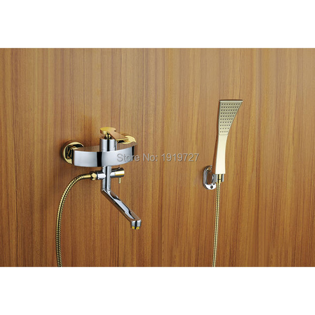 2016 Wholesale 100% Brass Brushed Nickel Or Chrome Or Gold Bathroom ...