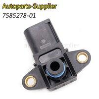 13628617097 acessórios do carro Sensor de Pressão de Ar 7585278/7585278-01/13627585278 Para BMW E46 X5 E60 E65 X3 E90 F10 F01 325i