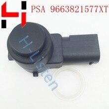 9663821577 auto PDC Parkplatz Sensor Für Peugeot 307 308 407 Rcz Partner für Citroen PSA96638215779V 9663821577XT 9663821577TS
