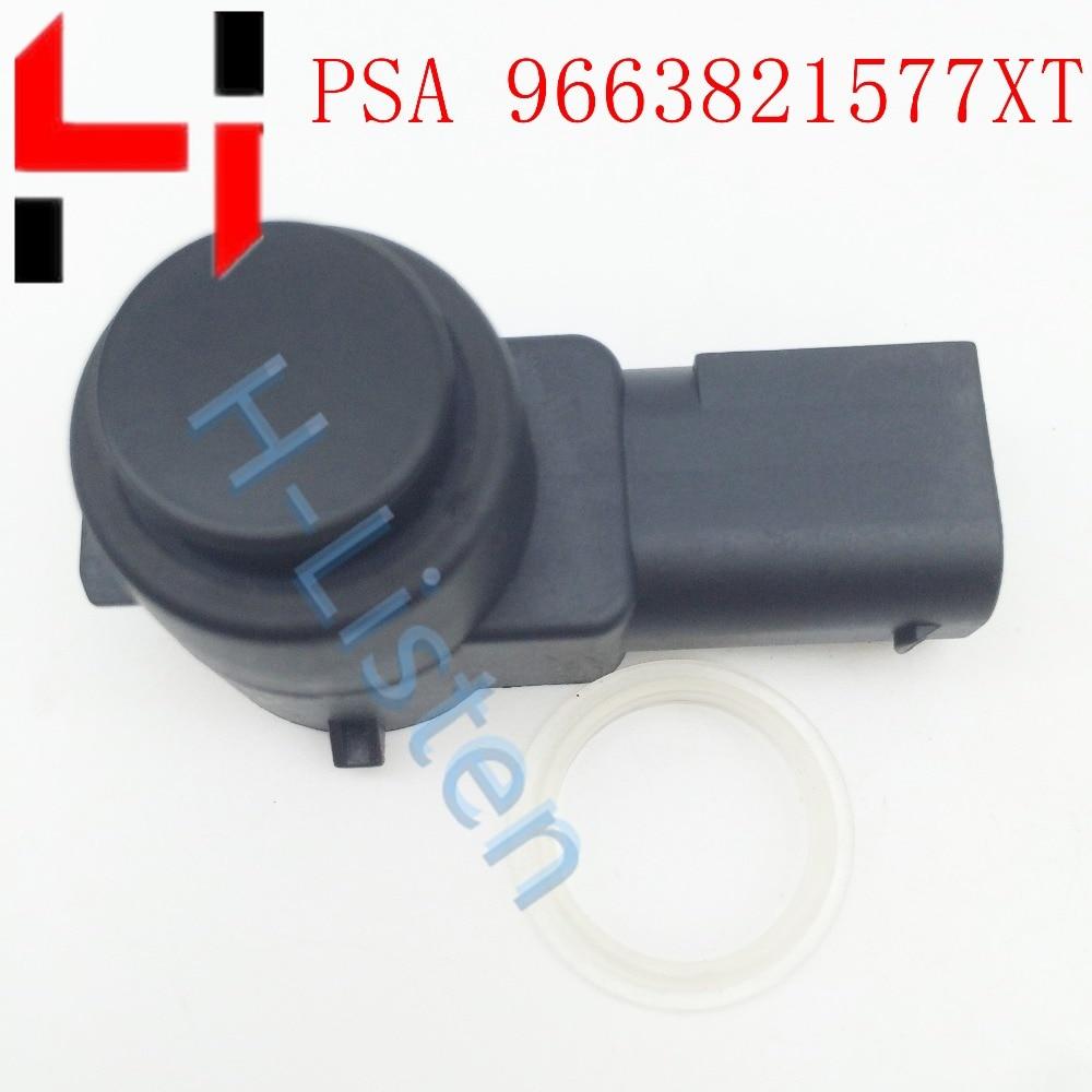 9663821577 coche aparcamiento PDC Sensor para Peugeot 307 308 407 Rcz socio para Citroen PSA9663821577 9663821577XT