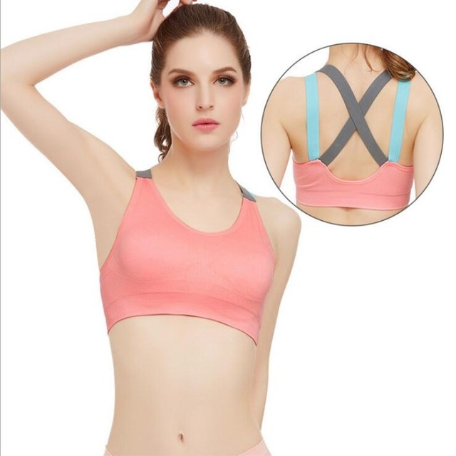 Push Up Bras Backless Fitness Bras Crop Tops Women Sexy Bra Bralet Brassiere Bralette Women Tank Top soutien gorge sujetador XL