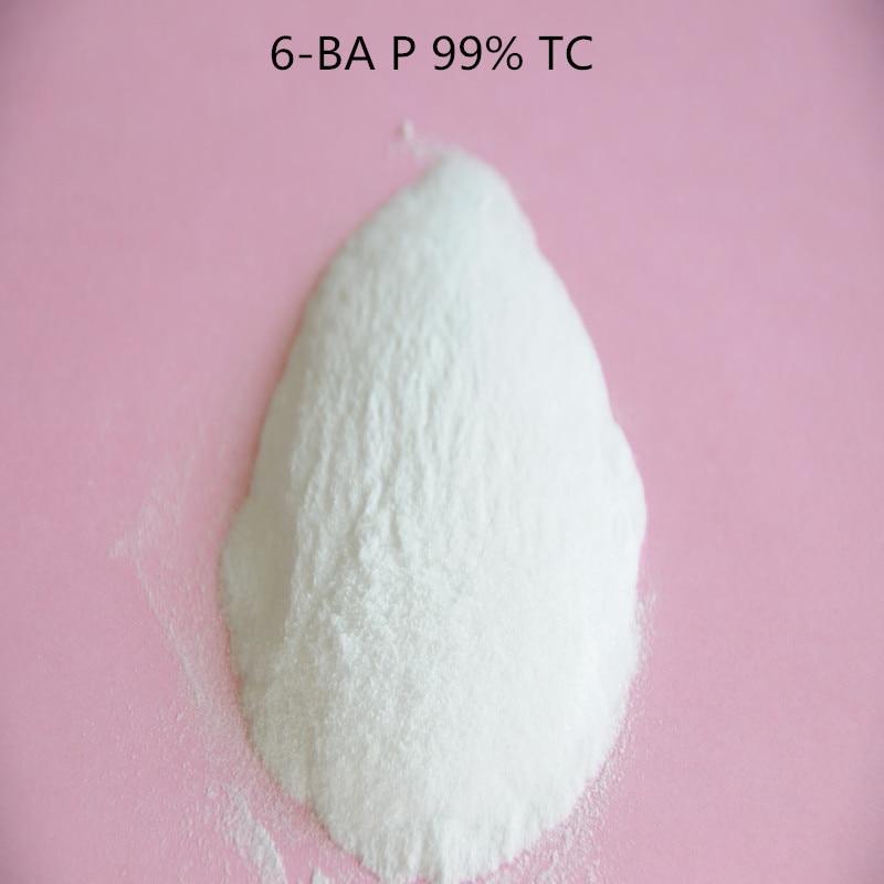 10 gramų 6-BA / 6-BAP / citokininas / fitokininas / 98% TC ląstelių dalijimosi agentas 6-benzilaminopurinas