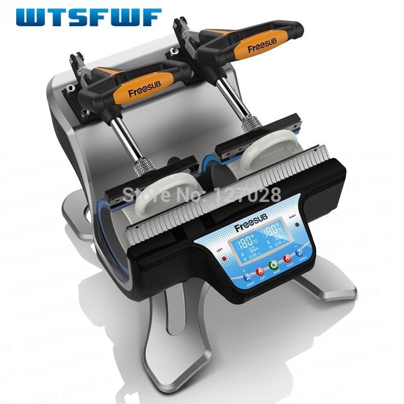 Wtsfwf ST-210 İki Stansiyalı Termal Mug Transfer Yazıçı Mug - Ofis elektronikası - Fotoqrafiya 2